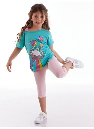 Mushi Sweet Universe Tunik Takım Renkli